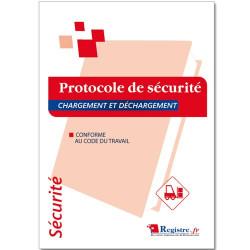 REGISTRE DE SECURITE PROTOCOLE CHARGEMENT / DECHARGEMENT (RP056)