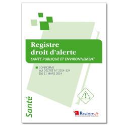 Registre droit d'alerte (RP061)