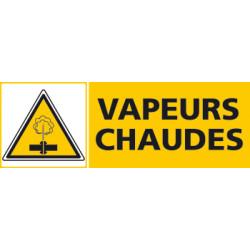 Panneau VAPEURS CHAUDES (C0478)