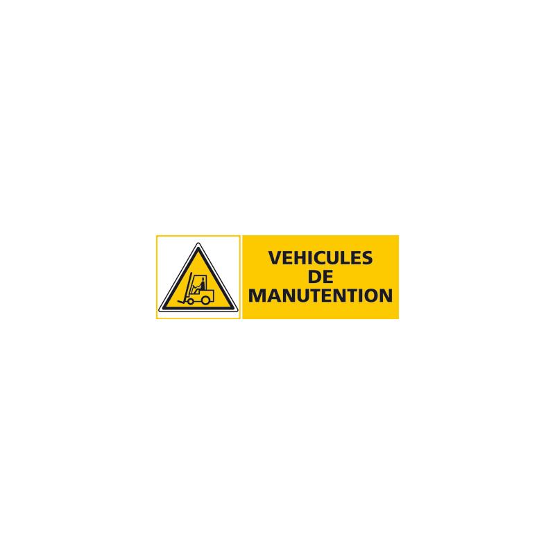Panneau VEHICULES DE MANUTENTION (C0482)