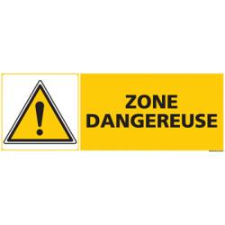 Panneau ZONE DANGEREUSE (C0484)