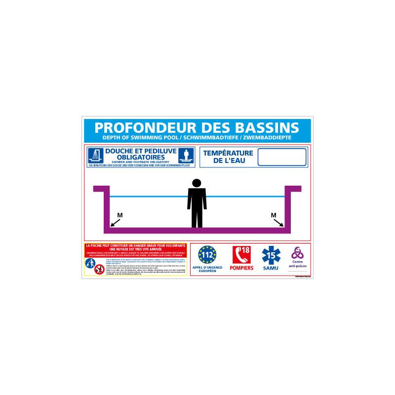 PANNEAU PROFONDEUR PISCINES PERSONNALISABLE (BASSINS PLATS) (D0721_PLAT-PERSO)