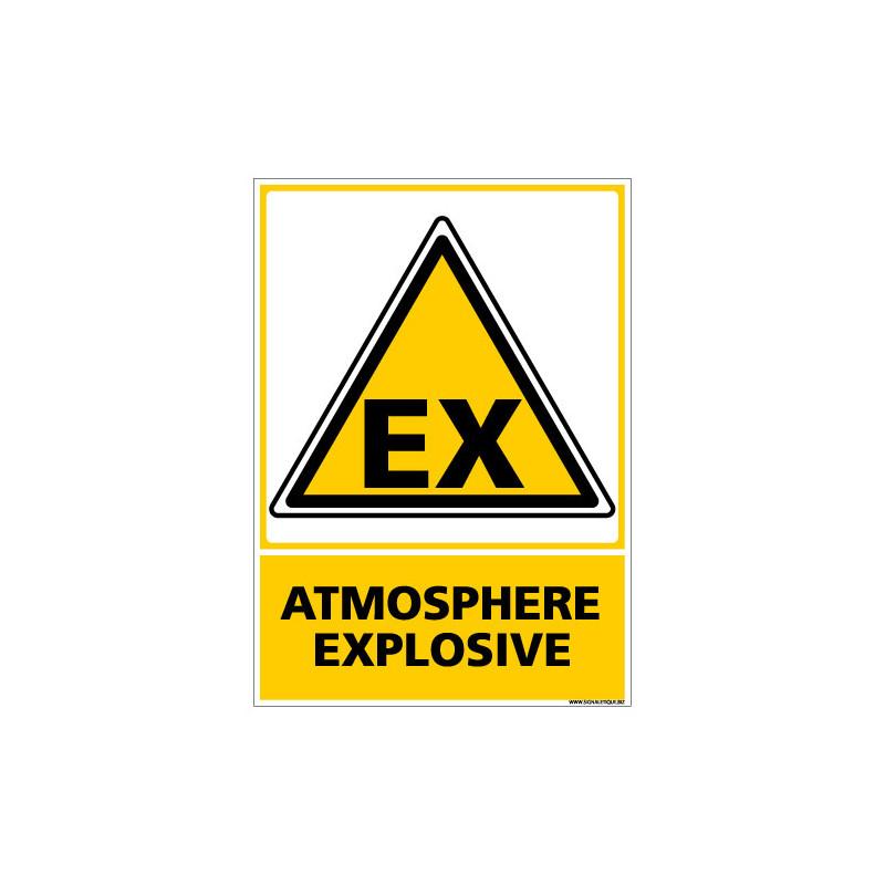 PANNEAU ATMOSPHERE EXPLOSIVE (C0512)