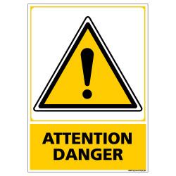 Panneau ATTENTION DANGER (C0524)