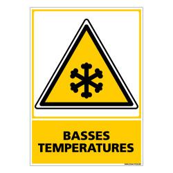 Panneau BASSES TEMPERATURES (C0560)