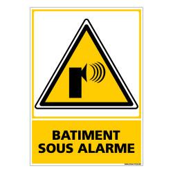 Panneau BATIMENT SOUS ALARME (C0561)