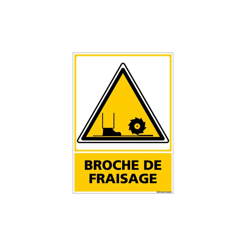 Panneau BROCHE DE FRAISAGE (C0562)