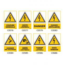 Signalisation danger electrique