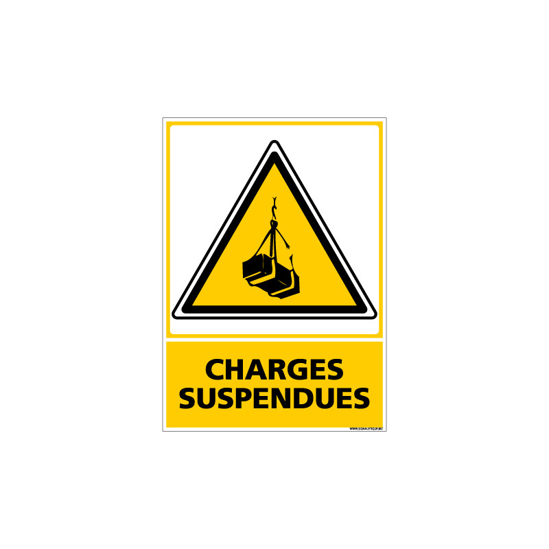 Panneau CHARGES SUSPENDUES (C0570)