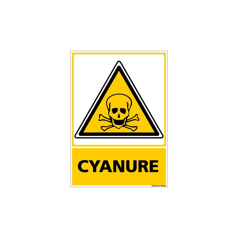 Panneau CYANURE (C0578)