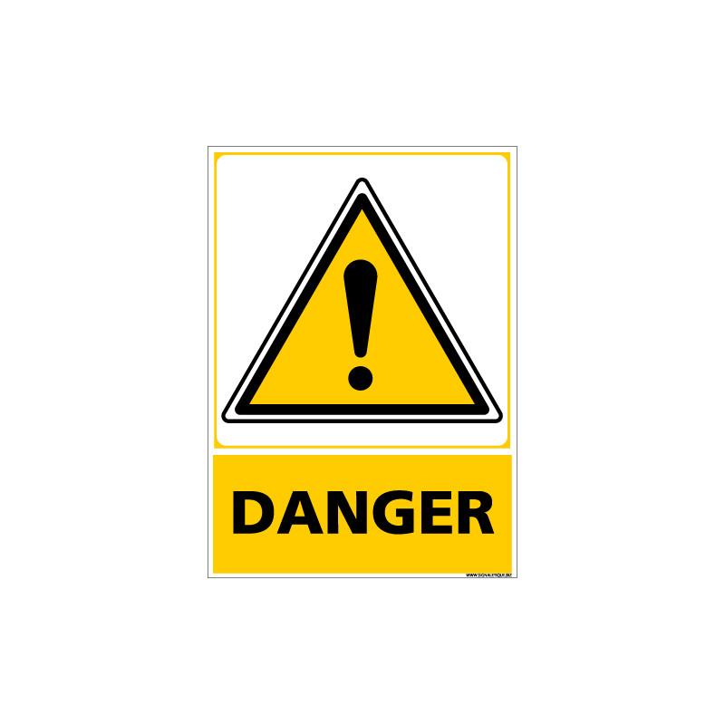 Panneau ATTENTION DANGER (C0580)