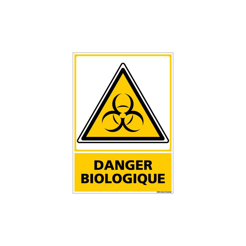 Panneau DANGER BIOLOGIQUE (C0589)