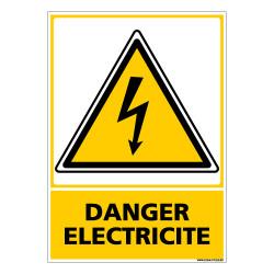 PANNEAU DANGER ELECTRIQUE (C0597)