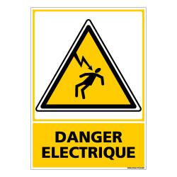 PANNEAU DANGER ELECTRIQUE (C0599)