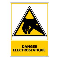 PANNEAU DANGER ELECTROSTATIQUE (C0600)