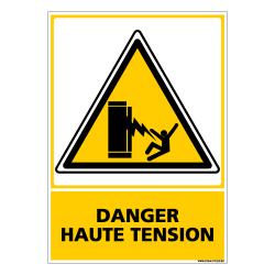 PANNEAU DANGER HAUTE TENSION (C0602)