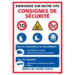 Panneau Consignes de sécurité (D1017)