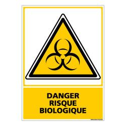 Panneau DANGER RISQUE BIOLOGIQUE (C0616)