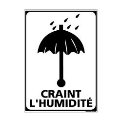 Adhésif de Signalisation CONDITIONNEMENT : CRAINT L'HUMIDITE (M0263)