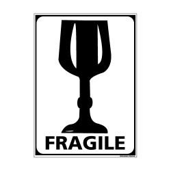 Adhésif de Signalisation CONDITIONNEMENT : VERRE - FRAGILE (M0269)