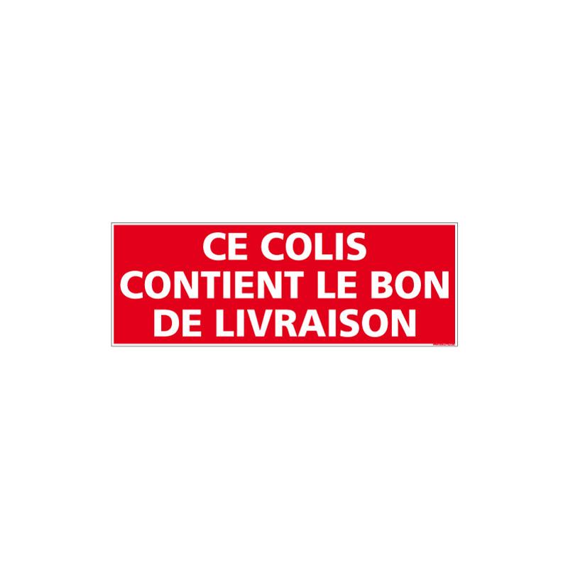 ADHESIF DE CONDITIONNEMENT BON DE LIVRAISON (M0333)