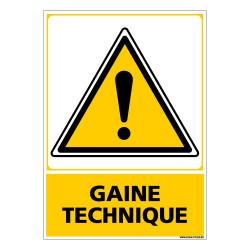 Panneau GAINE TECHNIQUE (C0634)