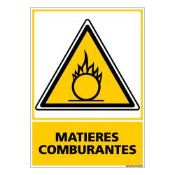 Panneau MATIERES COMBURANTES (C0646)