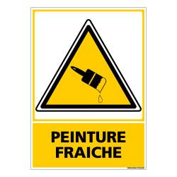 Panneau PEINTURE FRAICHE (C0657)