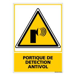 Panneau PORTIQUE DE DETECTION ANTIVOL (C0662)
