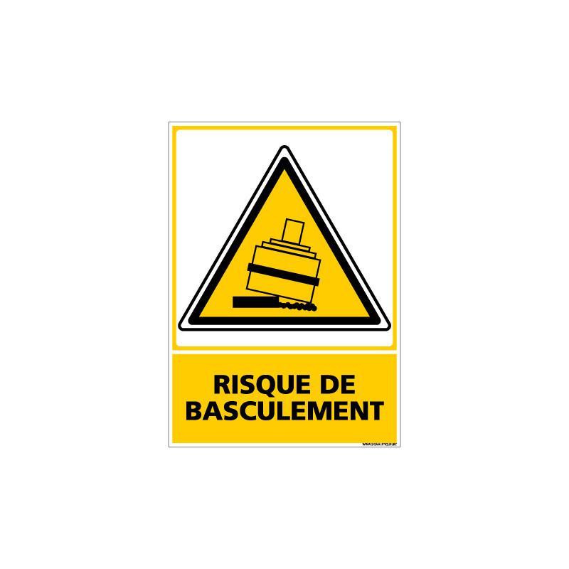 Panneau RISQUE DE BASCULEMENT (C0673)