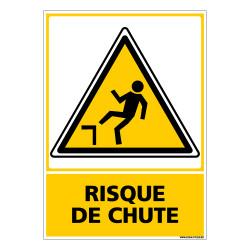 Panneau RISQUE DE CHUTE (C0676)