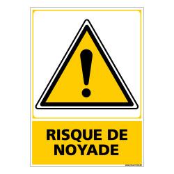 Panneau RISQUE DE NOYADE (C0679)