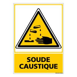 Panneau SOUDE CAUSTIQUE (C0685)