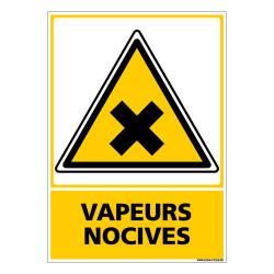 Panneau VAPEURS NOCIVES (C0692)