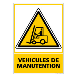 Panneau VEHICULES DE MANUTENTION (C0694)