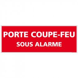 PANNEAU PORTE COUPE FEU...