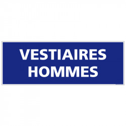PANNEAU VESTIAIRES HOMMES...