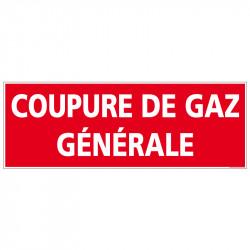 PANNEAU COUPURE DE GAZ...