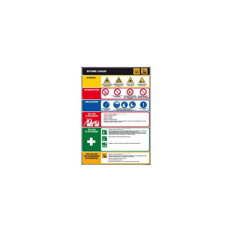 Panneau BITUME CHAUD (C0838)