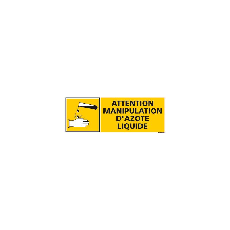 PANNEAU MANIPULATION AZOTE LIQUIDE (C0843)