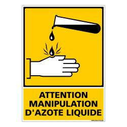 PANNEAU MANIPULATION AZOTE LIQUIDE (C0844)