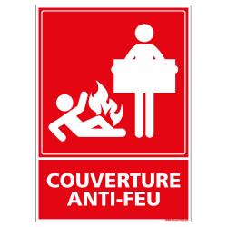 Panneau couverture anti-feu (A0202)