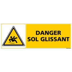 PANNEAU DANGER SOL GLISSANT (C0865)