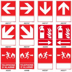 Panneaux de securite incendie