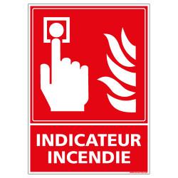 PANNEAU INDICATEUR INCENDIE (A0221)