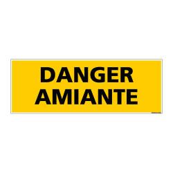 Panneau de Signalisation DANGER AMIANTE (C1002)