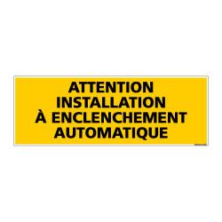 Panneau de Signalisation ATTENTION INSTALLATION (C1006)