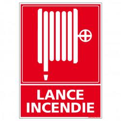 Panneau de Signalisation Incendie LANCE INCENDIE (A0222)