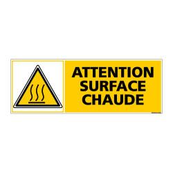 Panneau de Signalisation ATTENTION SURFACE CHAUDE (C1013)